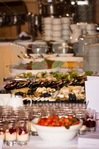 Food buffet in a restaurant during a festive event - franky242 photography