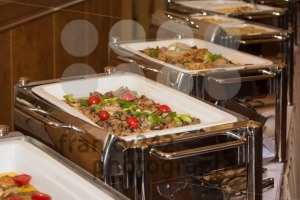 food banquet table with chafing dish heaters - franky242 photography