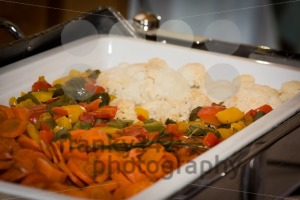 vegetables in chafing dish heater - franky242 photography