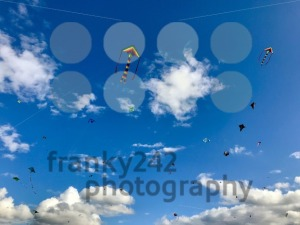 Dozens of kites are soaring in the sky - franky242 photography