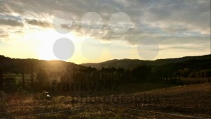 Rural landscape and sunset in Tuscany - franky242 photography