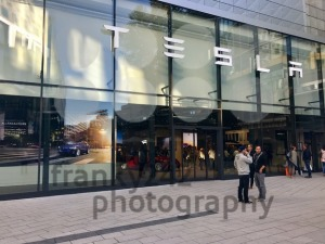 Tesla Motors showroom in Stuttgart, Germany - franky242 photography