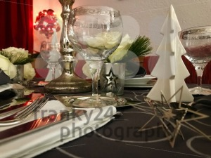 Table setting for celebration Christmas - franky242 photography