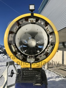 Snow cannon closeup - franky242 photography