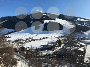 Panorama of the ski resort Saalbach-Hinterglemm in Austria - franky242 photography