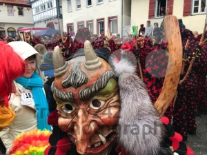 Traditional carnival in South Germany - Swabian-Alemannic Fastnacht. - franky242 photography