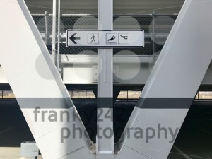 Arrivals and departures airport direction sign - franky242 photography
