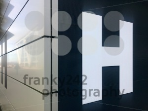 Entrance sign with letter H - franky242 photography