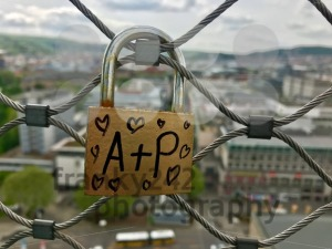 Lock of lovers high above the city - franky242 photography