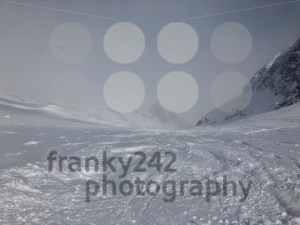 Skiing in the Stubai glacier ski resort - franky242 photography