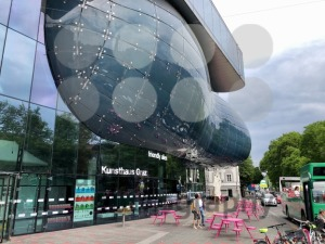 Art building of Graz, Austria, aka The Friendly Alien - franky242 photography