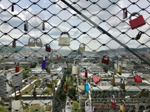 Locks of lovers high above the city - franky242 photography