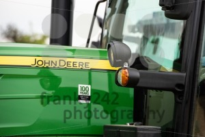 Closeup of an agricultural tractor by John Deere - franky242 photography