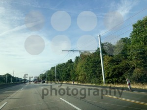 Overhead lines on a test area for electric trucks - franky242 photography