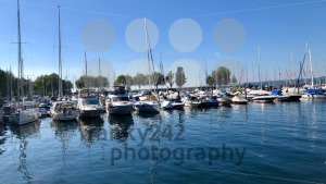 Boats at Lake Constance Harbor - franky242 photography