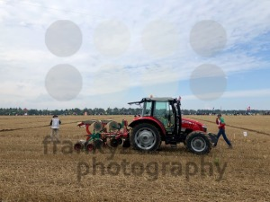 International contestants plowing their plots during the World Ploughing Competition in Germany 2018 - franky242 photography