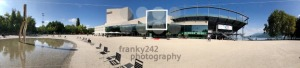 Panoramic view of the Bregenz Opera House - franky242 photography