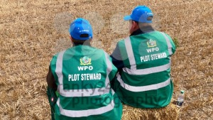 Plot Stewards waiting alongside the World Ploughing Competition in Germany 2018 - franky242 photography
