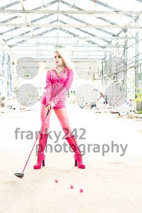 Urban Golf playing in a lost place - franky242 photography