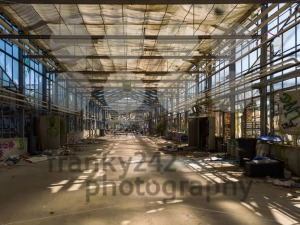 Old abandoned greenhouse - franky242 photography