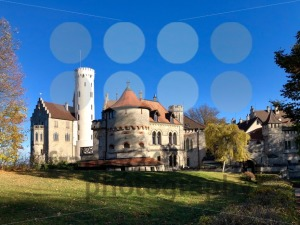 Lichtenstein Castle in the Swabian Jura - franky242 photography