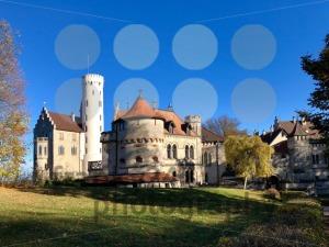 Lichtenstein Castle in the Swabian Jura - franky242 photography