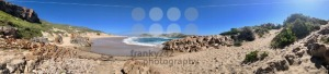 Beautiful beach in the Robberg Nature Reserve in South Africa - franky242 photography