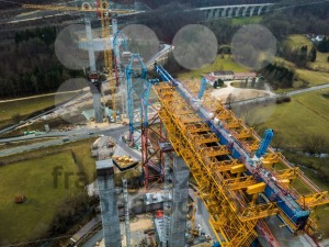 New railway bridge construction - Stuttgart 21, Aichelberg - franky242 photography