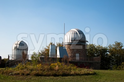 Planetarium Stuttgart, Germany Stock Photo