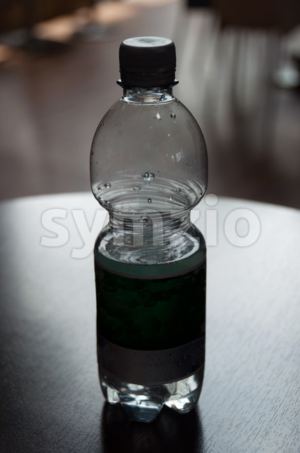 Mineral Water Bottle Stock Photo