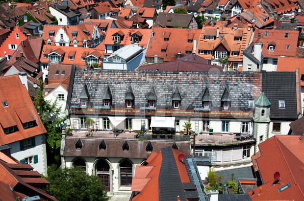 Roofs of Konstanz Stock Photo