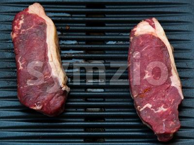 BBQ Rib Stock Photo