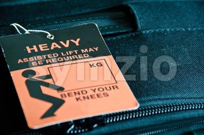 Heavy Luggage Stock Photo
