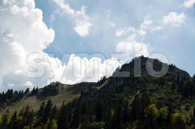 Bodenschneid Alp, near Schliersee, Bavaria Stock Photo
