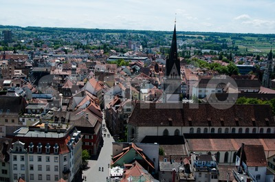 Konstanz City at Lake Constance Stock Photo