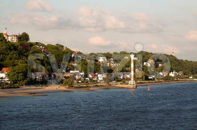 Hamburg Blankenese Stock Photo