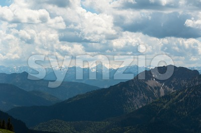 Bavarian Alps Stock Photo