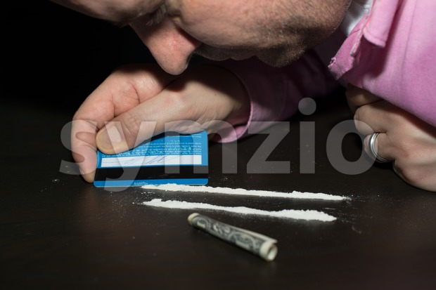 Drug abuse Stock Photo