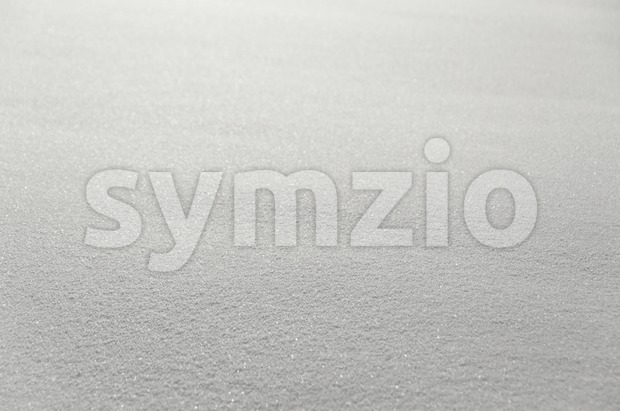 Powder Snow Texture Stock Photo
