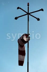 Wind Gauge Stock Photo