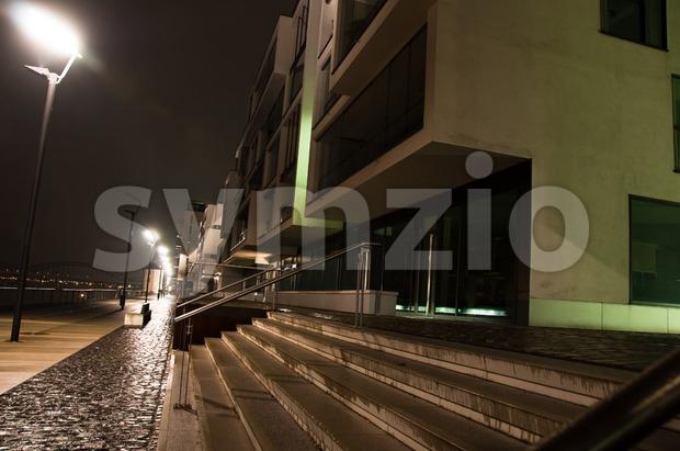 Rheinauhafen in Cologne, Germany Stock Photo