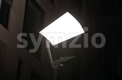 Modern Streetlight Stock Photo