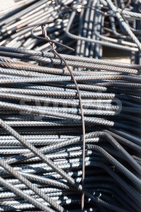 Construction steel Stock Photo