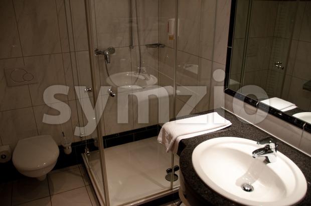 Hotel Bathroom Stock Photo