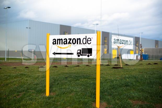 Amazon Warehouse Stock Photo