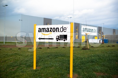 Amazon Warehouse Stock Photo
