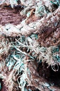 Ship rope Stock Photo