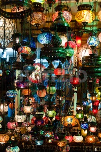 Turkish Lanterns Stock Photo