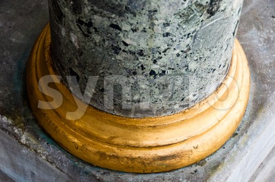 Marble Column Stock Photo