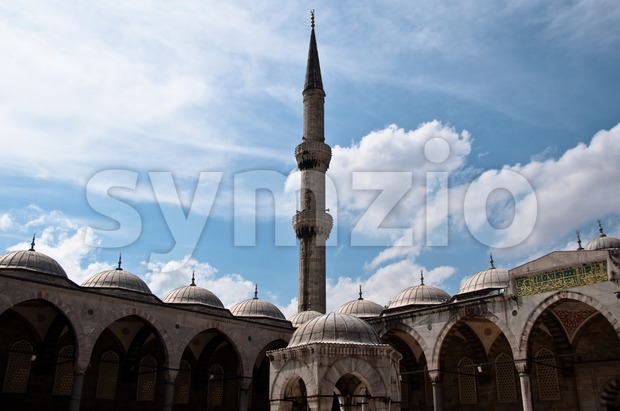 Istanbul - Blue Mosque Stock Photo